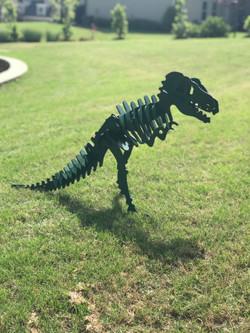 2ft tall laser cut Dinosaur!