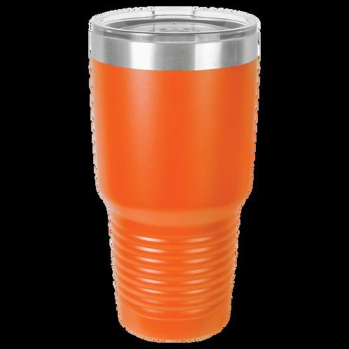 Orange 30 oz Tumbler