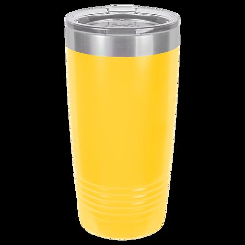 Yellow 20 oz Tumbler