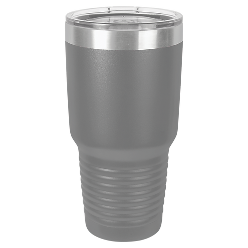 Dark Grey 30 oz Tumbler