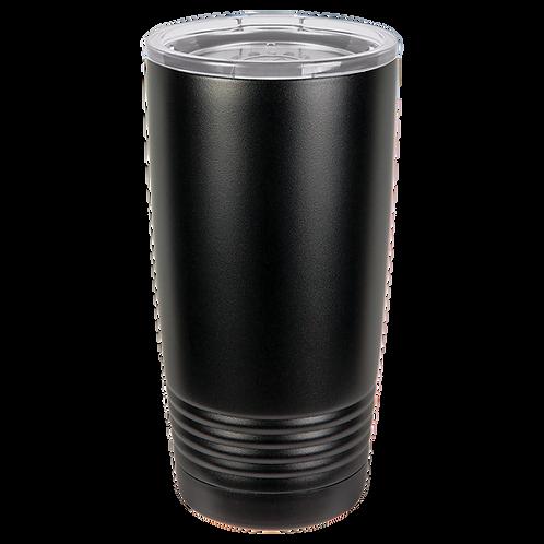 Full Black 20 oz Tumbler