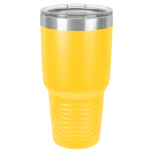 Yellow 30 oz Tumbler