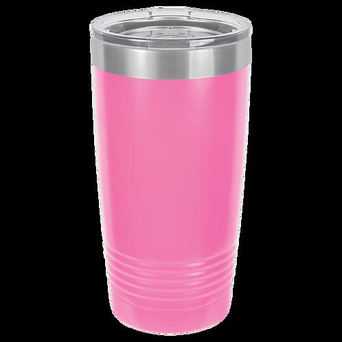 Pink 20 oz Tumbler