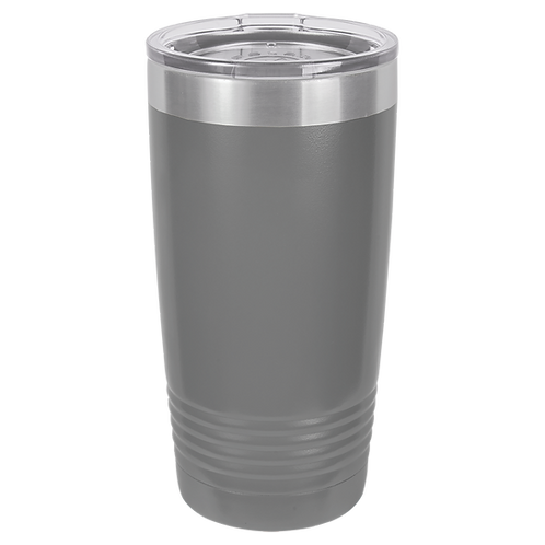 Dark Grey 20 oz Tumbler