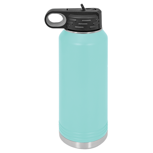 Teal Stainless Steel Sports Bottle