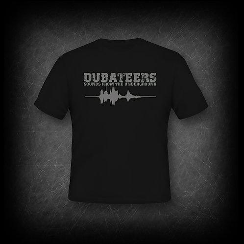 Dubateers Black T-Shirt Silver Edition MK2