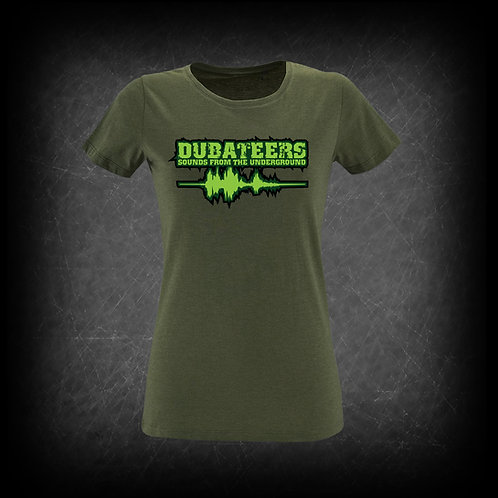 Dubateers Olive GIRLS T-Shirt Apple Green Edition MK2