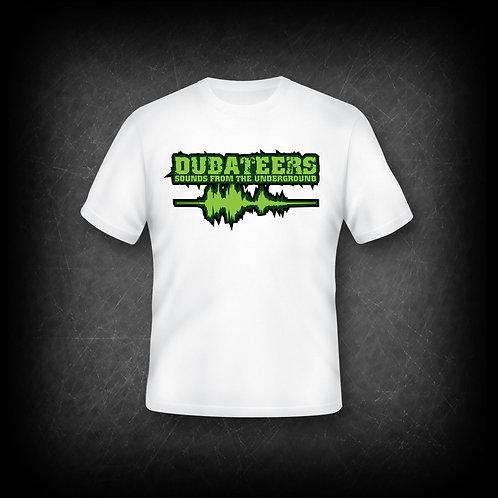 Dubateers White T-Shirt Apple Green Edition MK2