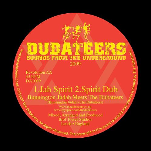 DA1009 'Jah Spirit' Bunnington Judah 'Natty Roots' Charlie P & Dubs
