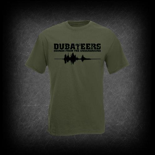Dubateers Olive T-Shirt Black Edition MK2