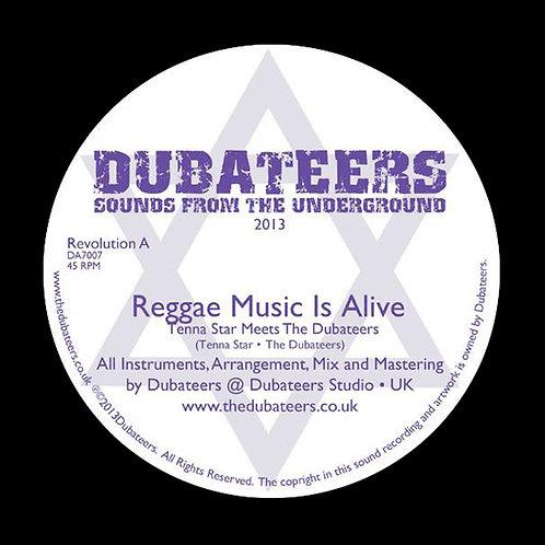 DA7010 'Reggae Music Is Alive' Tenna Star