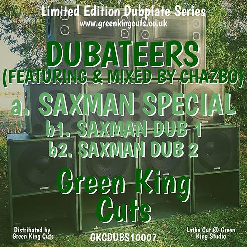 "GKCDUBS10007 10"" Hand Cut Green King Cuts Dubplate 'The Saxman Special'"