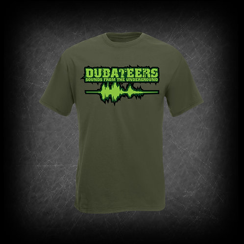 Dubateers Olive T-Shirt Apple Green Edition MK2