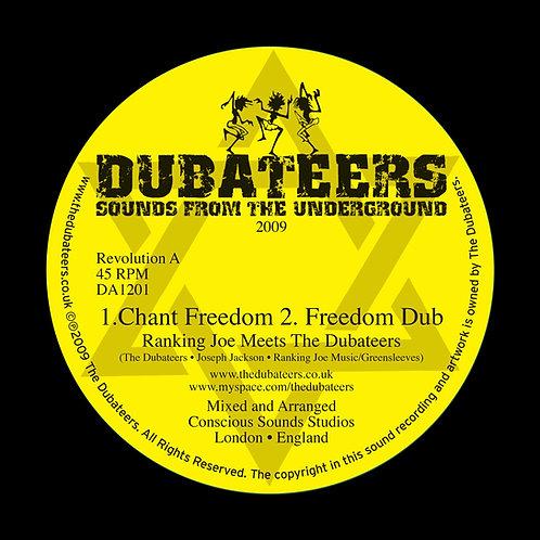 DA1201 'Chant Freedom' Ranking Joe 'Oh Jah' Charlie P & Dubs