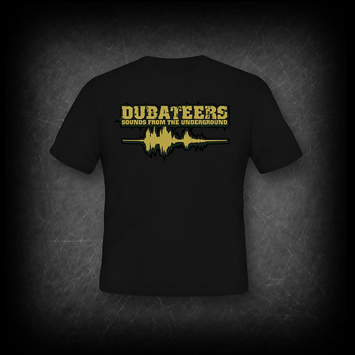 Dubateers Black T-Shirt Gold Edition MK2