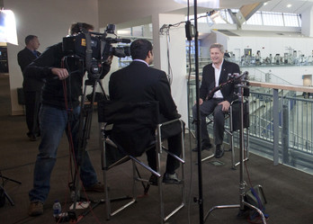 Behind the scenes: Interview with Canada Prime Minister Stephen Harper