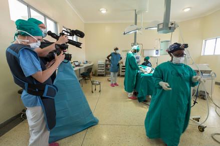 Behind the scenes in hospital in Uganda