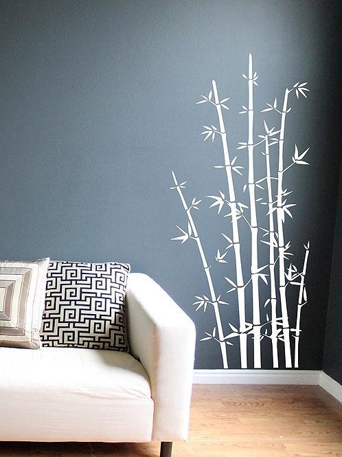 Bamboo Wall Decals Art Sticker Mural Home Decor