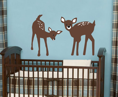 Deer Wall Decals Nursery Deco Art Stickers Mural