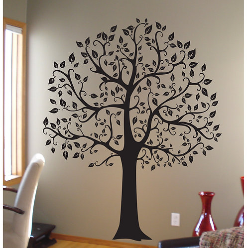 6ft Family Tree Large Wall Decal Art Sticker Mural