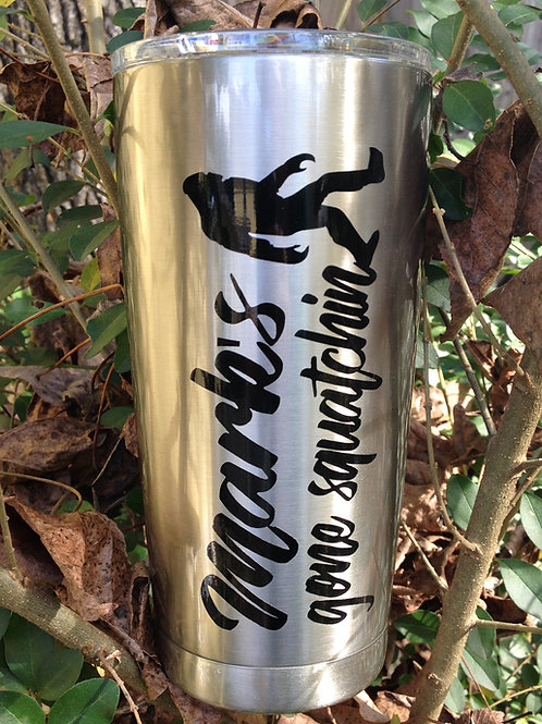 Bigfoot | Personalized 20 oz Tumbler | Stainless Steel Tumblers | Custom Gift