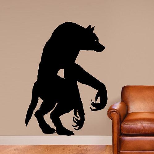 Werewolf Dogman Wall Decal