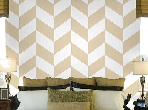 "26""x96"" Self Adhesive Wallpaper, Geometric Design"