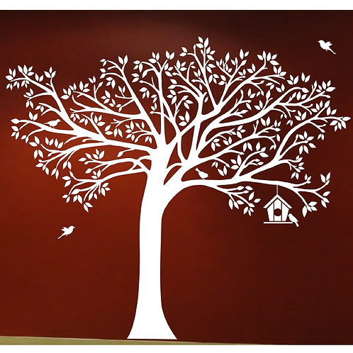 7 Ft. Tall X 8 Ft. Wide -  LARGE TREE Wall Decal