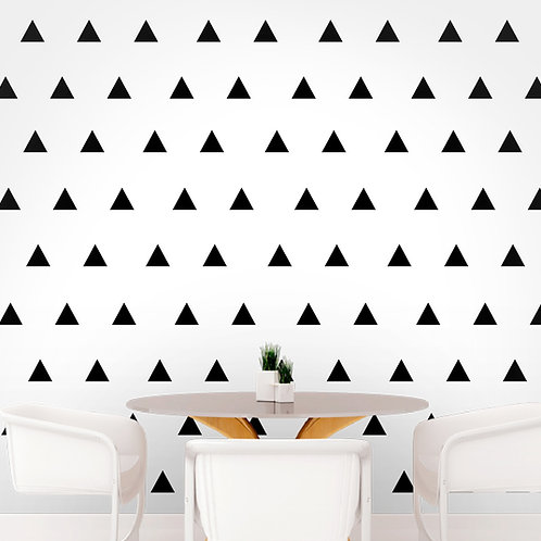 Set of Triangle Wall Decals