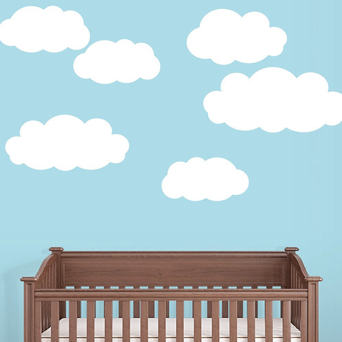 Clouds Wall Decals Art Stickers Deco Murals