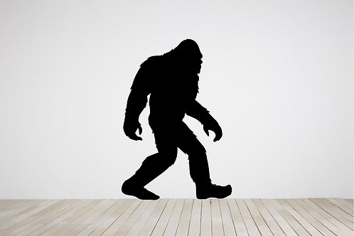 BIGFOOT, Sasquatch Wall Decal