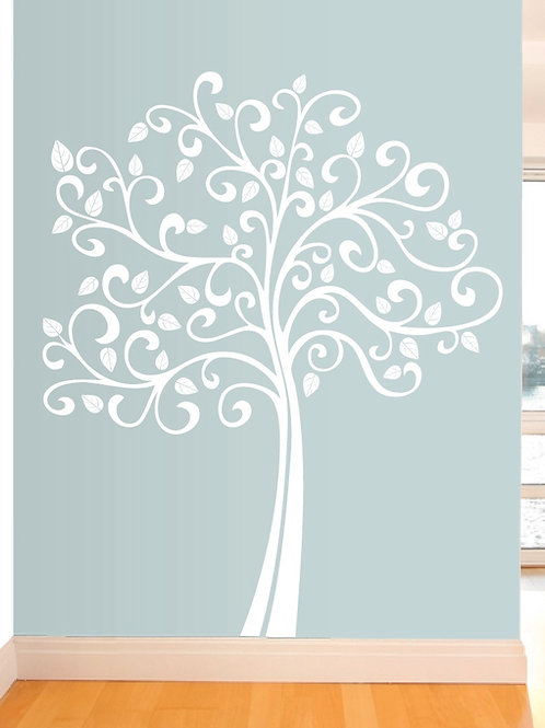 7Ft. Large tree wall decal