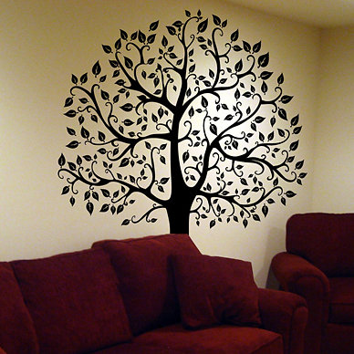 6ft Family Tree Large Wall Decal Art Sticker Mural Part 95