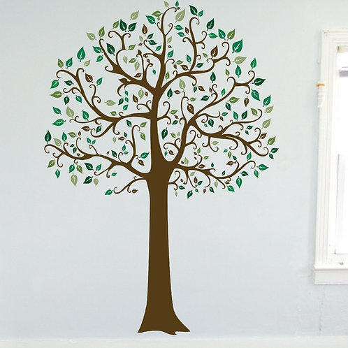 7ft Family Tree Large Wall Decal Art Sticker Mural