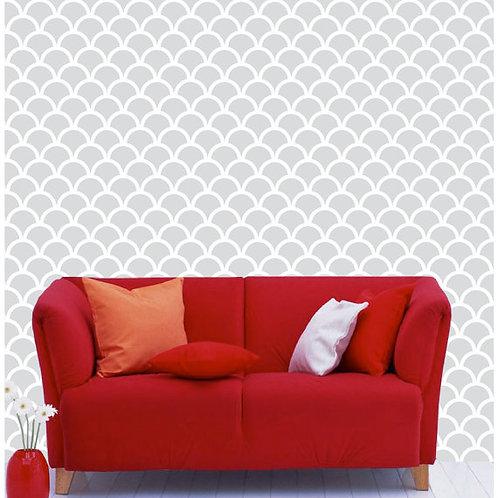 "26""x96"" Self Adhesive Wallpaper, Moroccan Style 2"