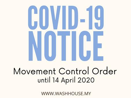 Coronavirus Update 2: MCO extended until 14 April 2020
