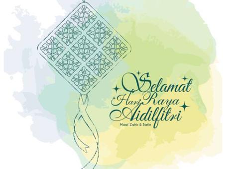 Hari Raya Aidilfitri Holiday Notice