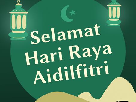 Hari Raya Holiday Notice