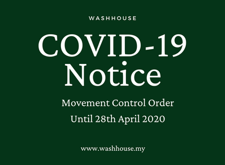 Coronavirus Update 3: MCO extended until 28 April 2020