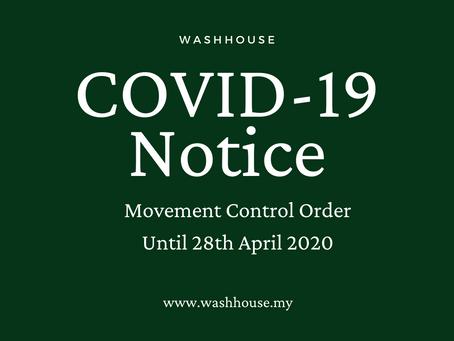 Coronavirus Update 3: MCO extended until 28 April 2020