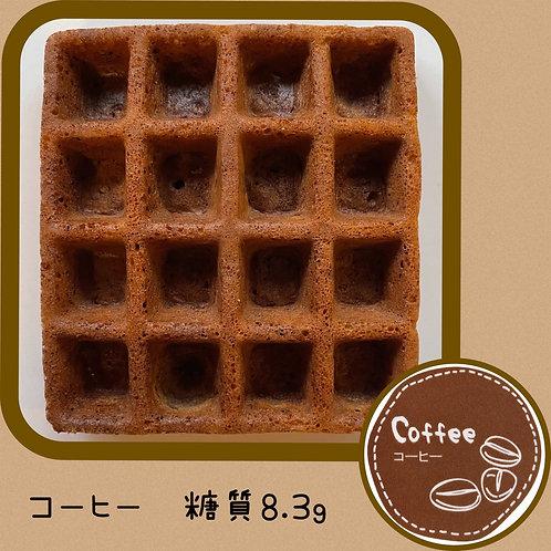 【お試し限定価格】低糖質ワッフル(エコ) コーヒー6個入り