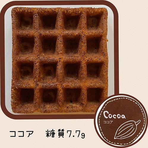 【お試し限定価格】低糖質ワッフル(エコ) ココア6個入り