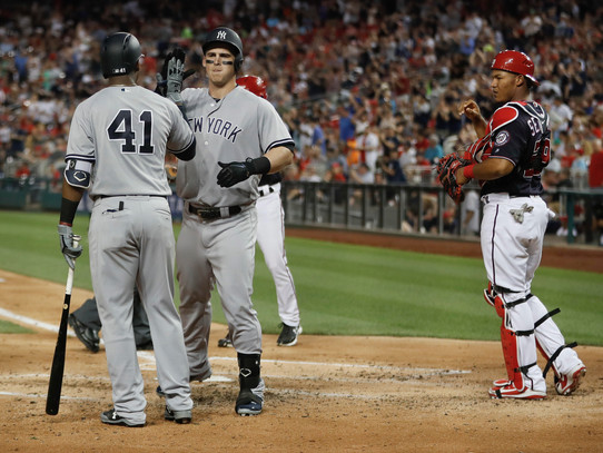 Series Preview: Nationals at Yankees
