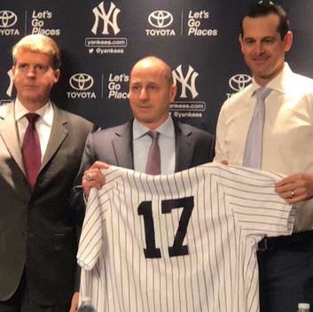 Aaron Boone introduced as 33rd manager of the New York Yankees