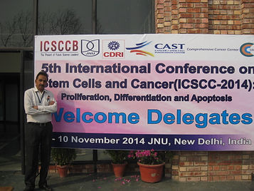DR F Rehman at international conference