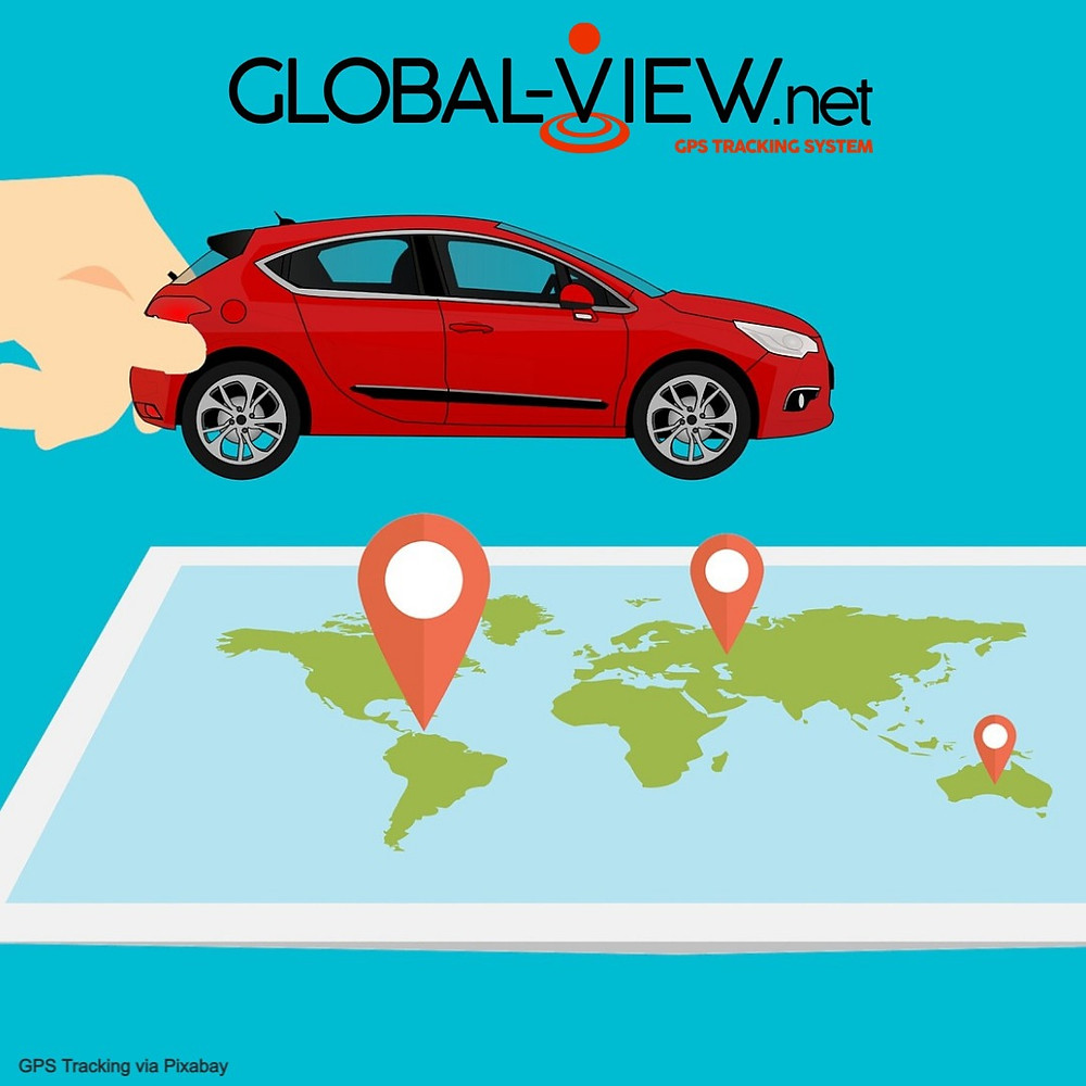vehicle tracking using Global-View GPS tracking technology