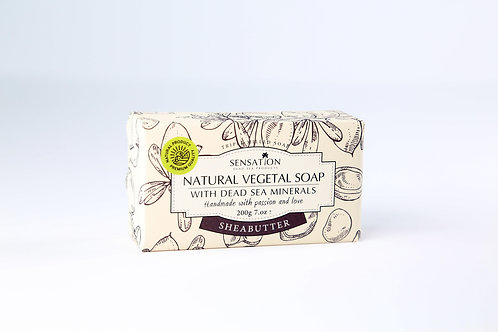 Natural Vegetal Soap With Dead Sea Minerals (Shea Butter)