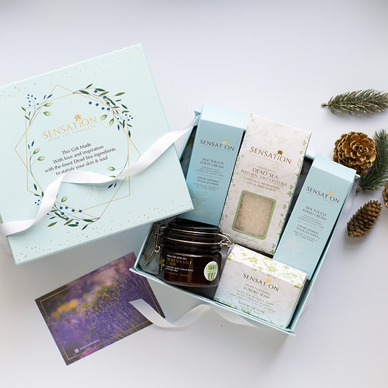 Sensation Dead Sea Gift BoxType 2
