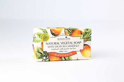 Natural Vegetal Soap With Dead Sea Minerals (Mandarin))