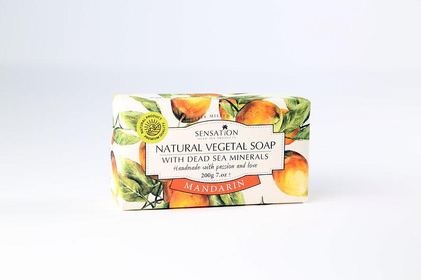 Natural Vegetal Soap With Dead Sea Minerals (Mandarin))
